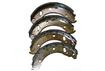 Колодки заднего тормоза комплект 4 шт. для барабанных тормозов 3302-3502090 «Триал» - 5,6мм