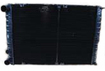Радиатор 115.1301010-01 2-х рядный (медно-латунный)  (медный бачок)