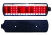Фонарь задний 112.08.69-03 КАМАЗ, СуперМАЗ,  левый с проводом, светодиод