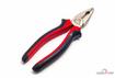Пассатижи 180мм с красно-черной ручкой (уп:60/мин.заказ:6) (СЕРВИС КЛЮЧ) 75180