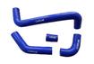 Комплект силикон патрубков радиатора ВАЗ-2105-2106 (алюминиевый радиатор) (4 шт) CARUM 2105-1303000